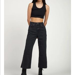 RAGGED JEANS - GRIP SKATER JEAN - CHARCOAL (13)